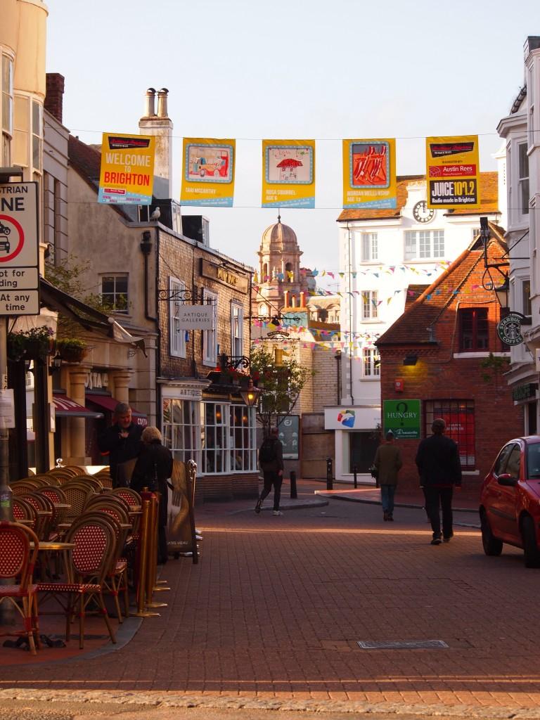 Il centro di Brighton