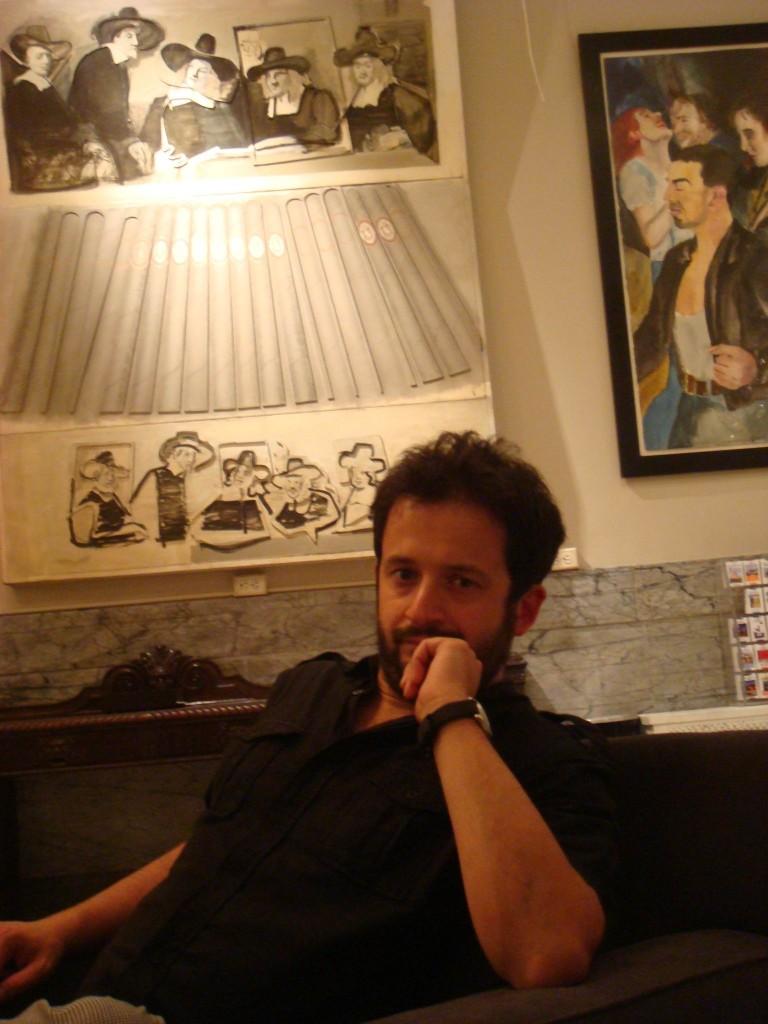 Marco nella Hall