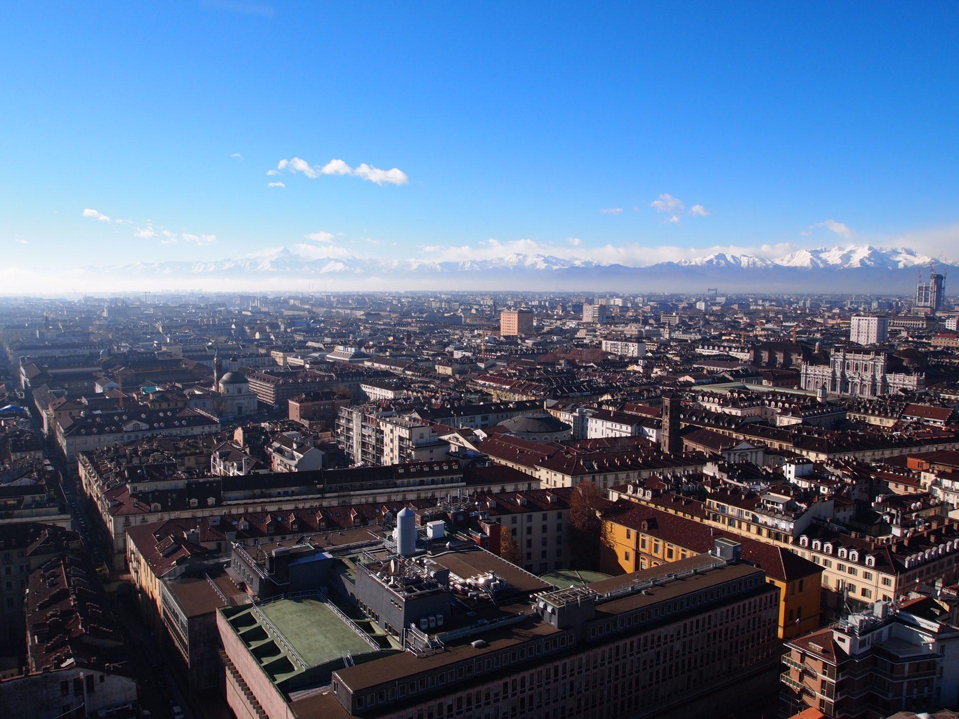 Torino, vista dall'alto