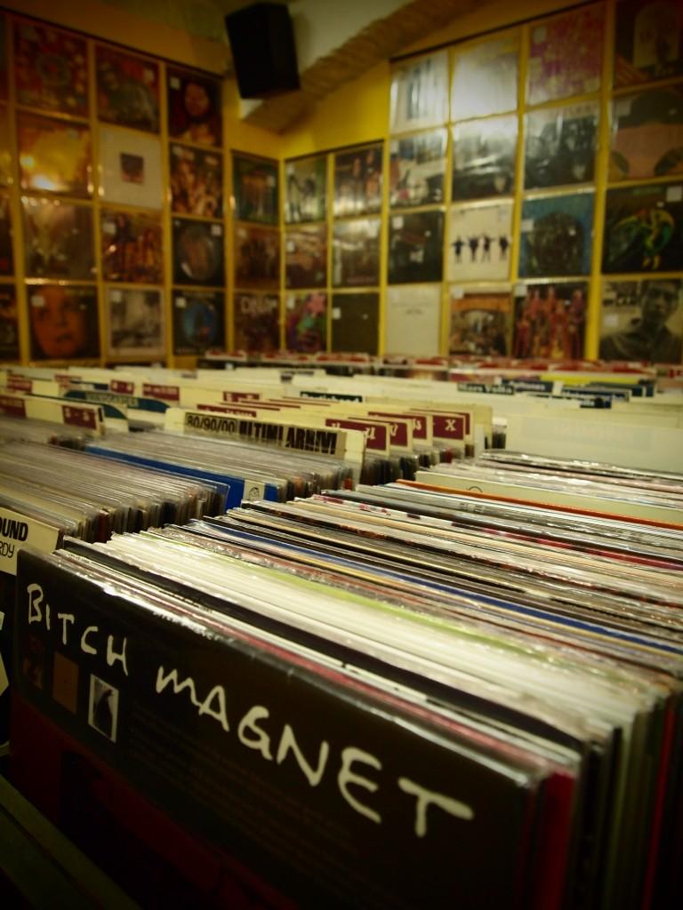 Perdersi tra i dischi...