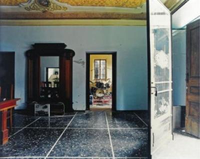 Villa Pirondini, foto di Luigi Ghirri