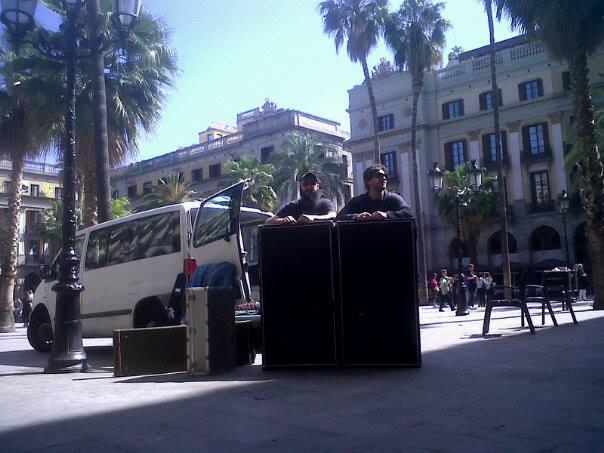 Appaloosa presso Plaça Reial