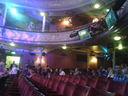 Interno di un teatro, foto di Monica