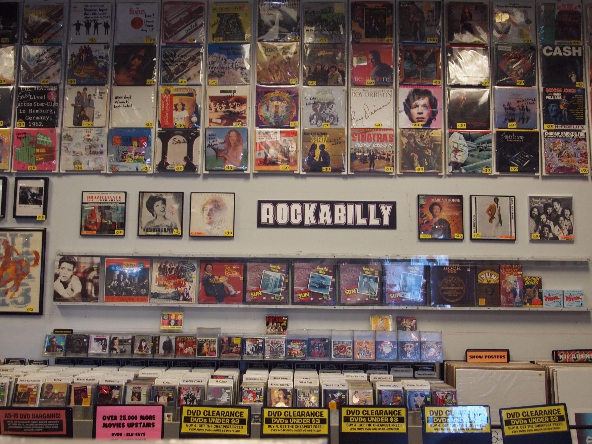 Una foto alla sezione Rockabilly fh gloria