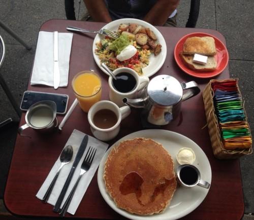 La nostra colazione!