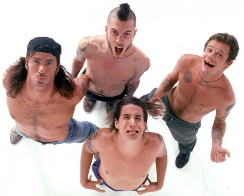The Red Hot Chili Peppers photographed in Hollywood. August 1991. ** Higher Rates Apply ** ** No Tabloids/Skin Mags ** © Robert Matheu / Retna Ltd.