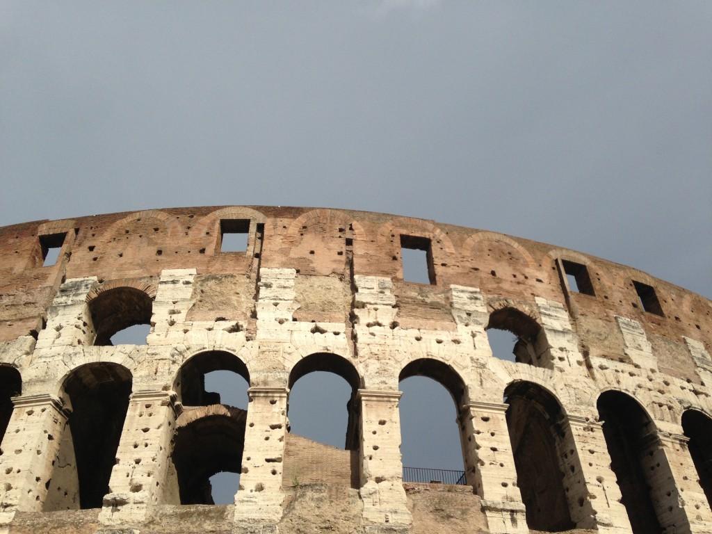 Colosseo, particolare, foto di Gloria