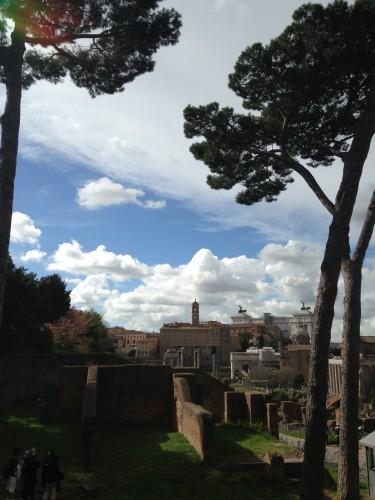 Bellissima Roma la mattina...