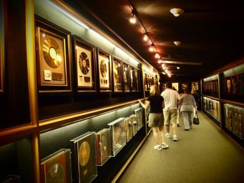 Trofei e dischi d'oro