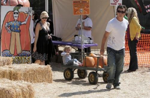 Gwen Stefani e famiglia