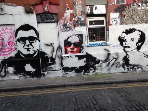 Graffiti a Brik Lane, foto di Gloria