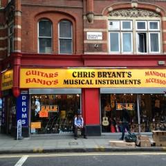 Spese rock a Denmark Street, il paradiso delle chitarre
