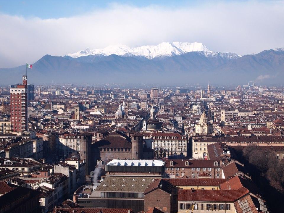 Torino vista dall'alto, foto di Gloria