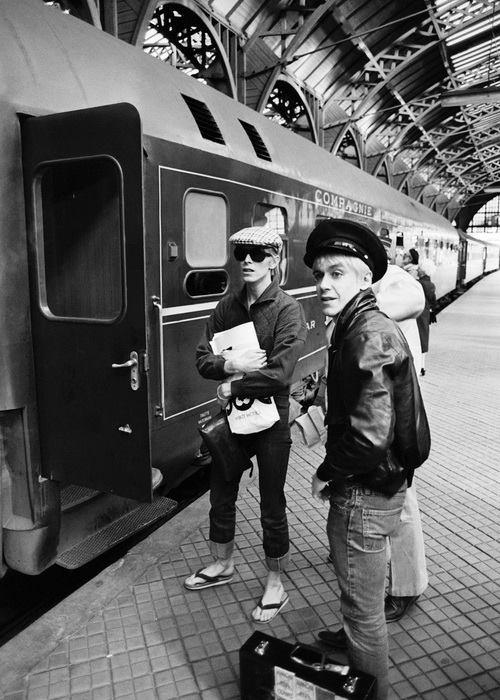 Iggy Pop e David Bowie a Berlino negli anni 70