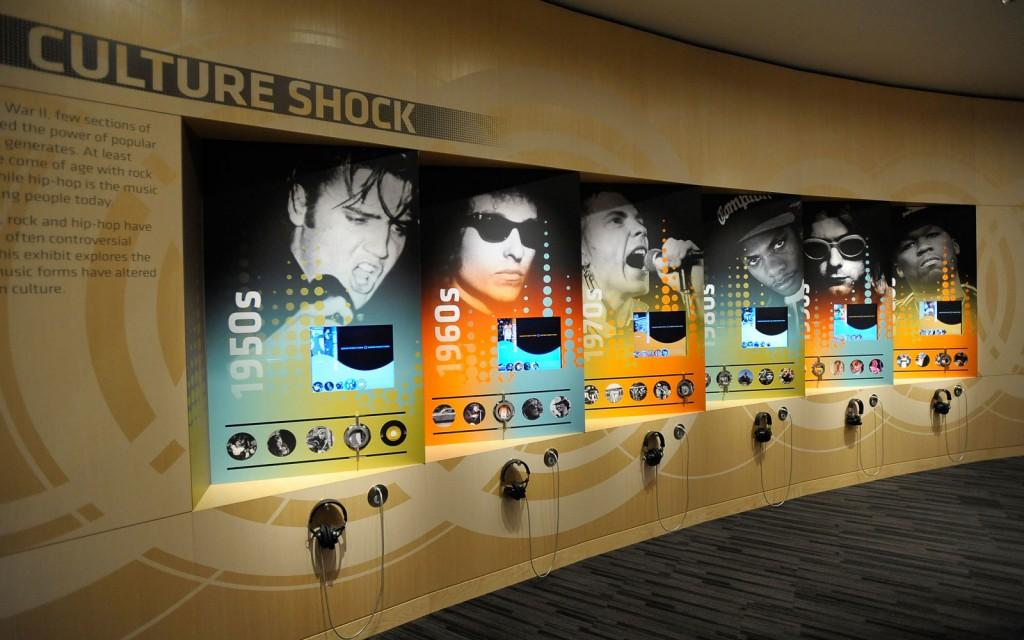 Una sala del Grammy Museum