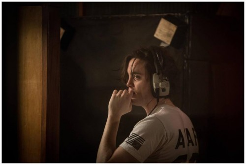 Freddie Dickson in studio