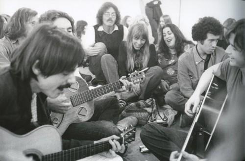 Improvvisazione a Laurel Canyon, fine anni '60