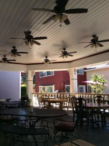 La veranda, ph Gloria