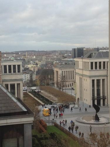 Bruxelles vista dall'alto, foto di Marco