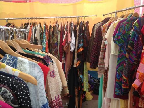 Alcuni abiti vintage, foto di Gloria