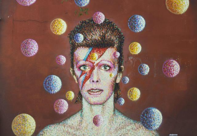 Un murale dedicato a Bowie a Brixton