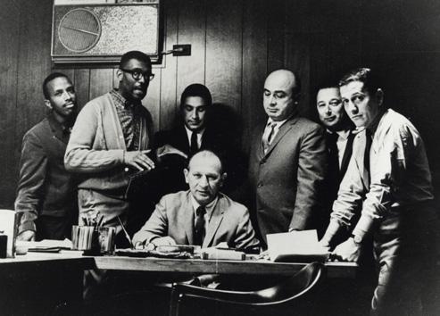Chess Records Staff, 1963 circa