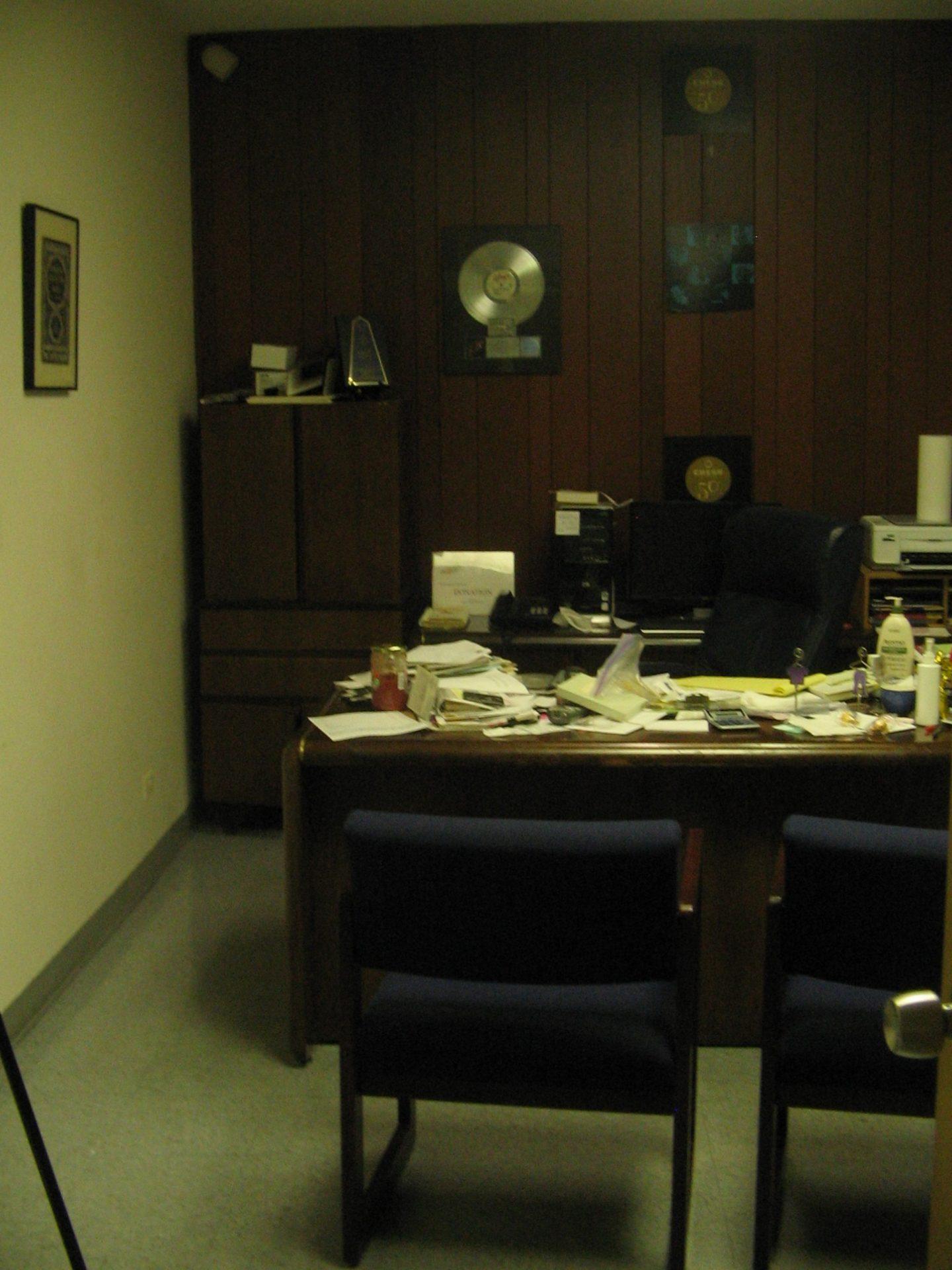 L'ufficio di Leonard Chess