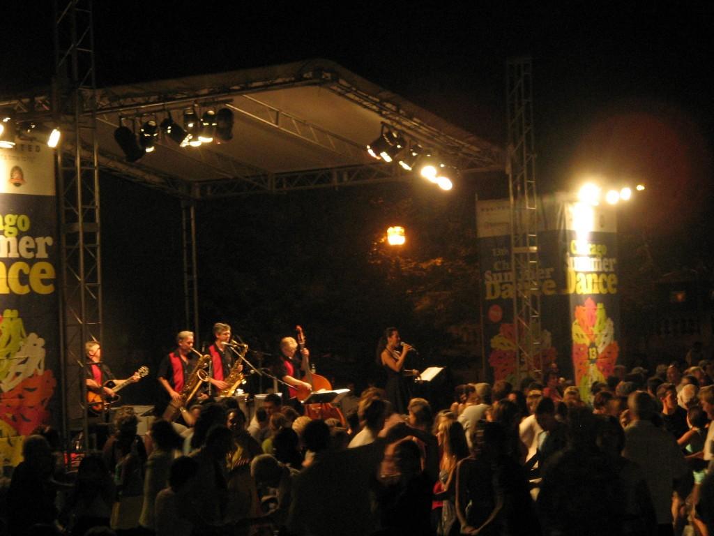 Un live set estivo nel parco