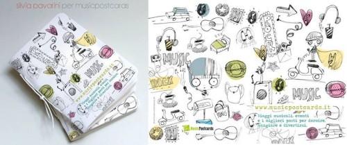 Agendita con illustrazione by Silvia Pavarini