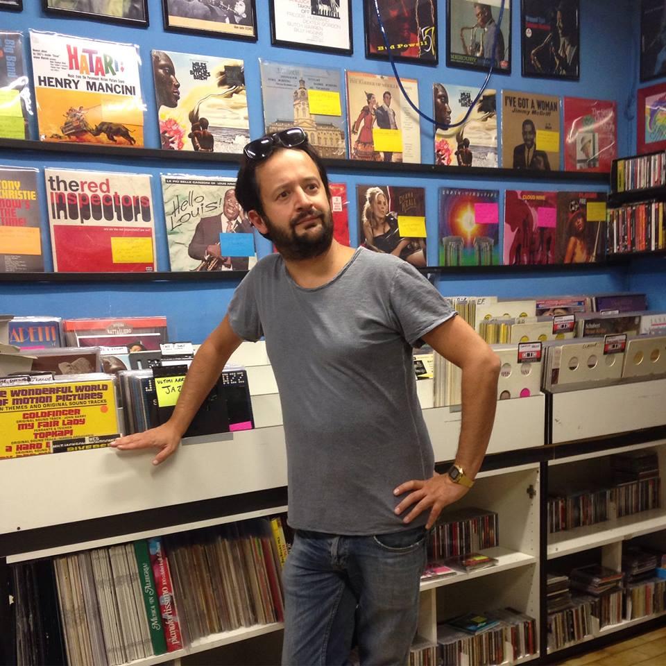 Marco tra i dischi di Planet Music