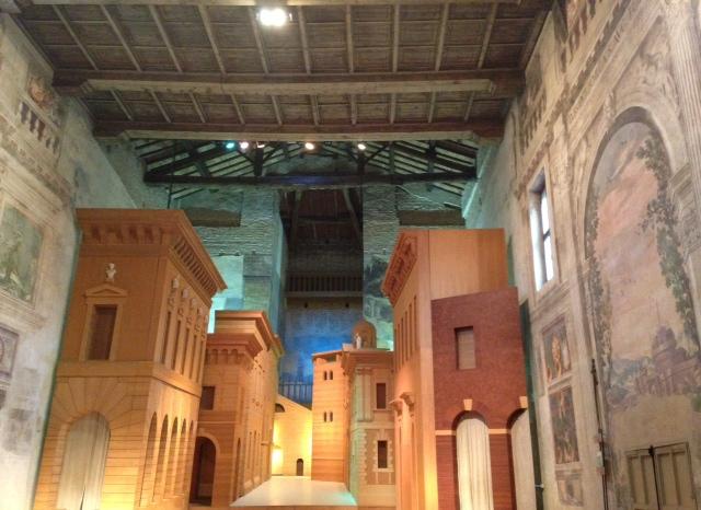 L'interno del teatro, foto di Gloria