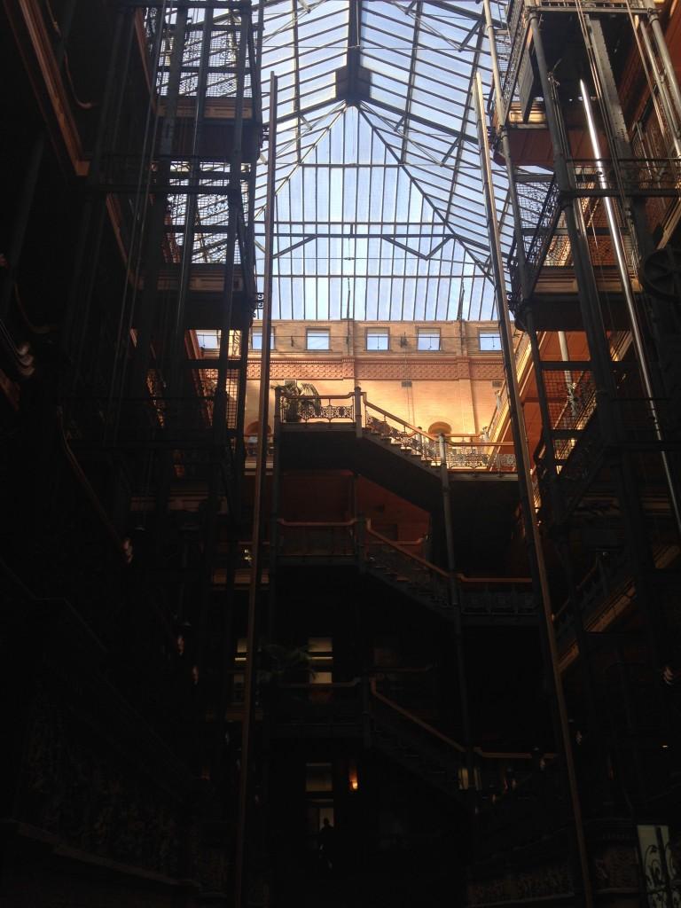 Il palazzo in cui è stato girato Blade Runner, foto di Gloria