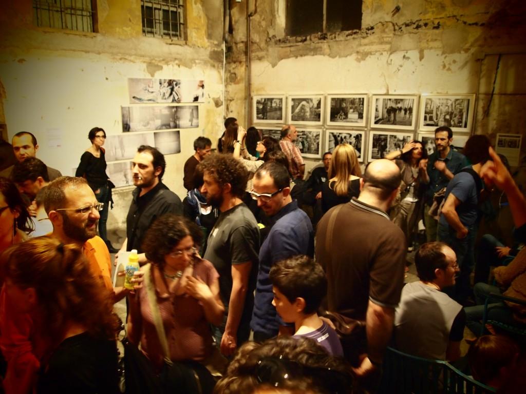 Ateliers aperti in Via dei Due Gobbi. foto di Gloria Annovi