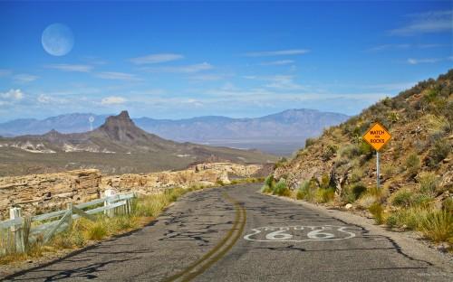 Uno scorcio della Route 66
