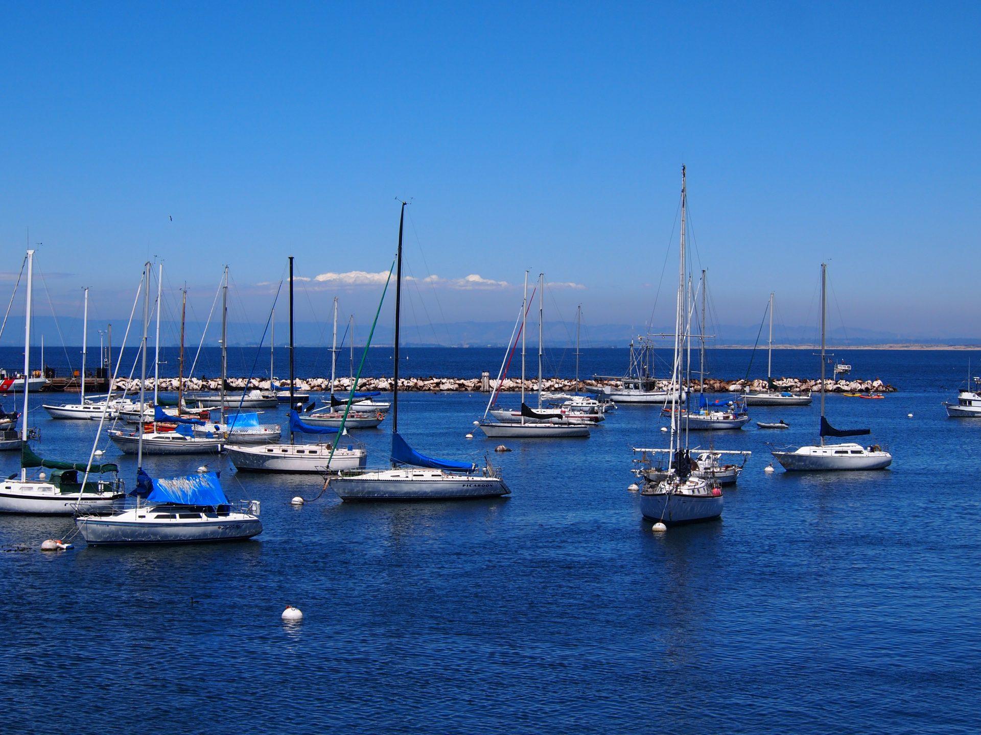 Monterey e le sue barche