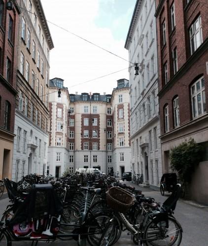 le bici di Nørrebro, foto di Gloria