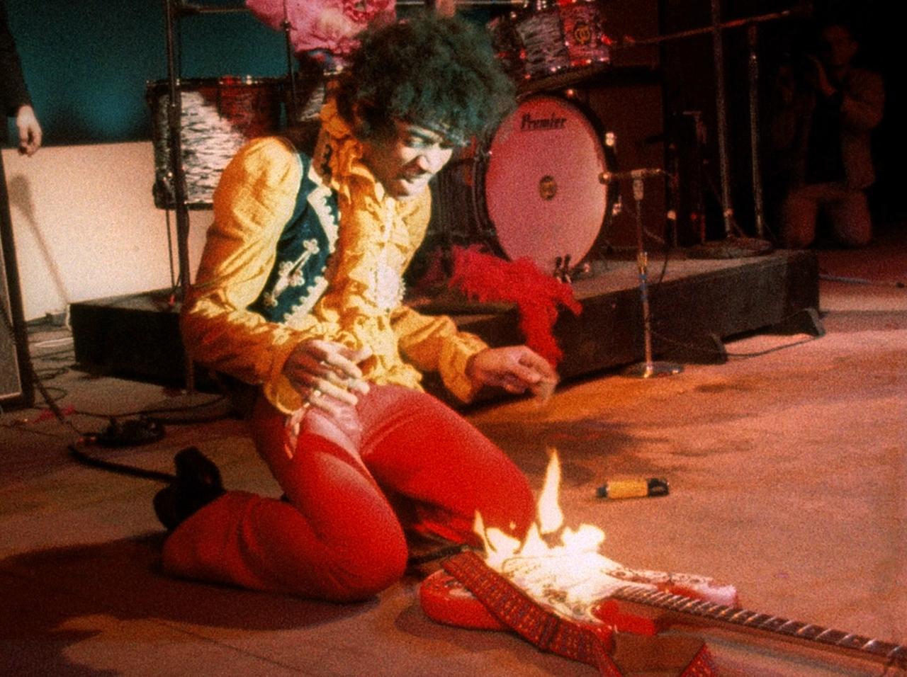Jimi Hendrix, Monterey 1967
