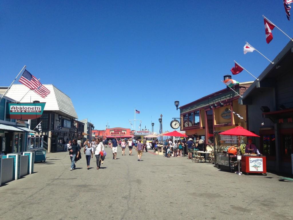 Il molo di Monterey, ph Gloria