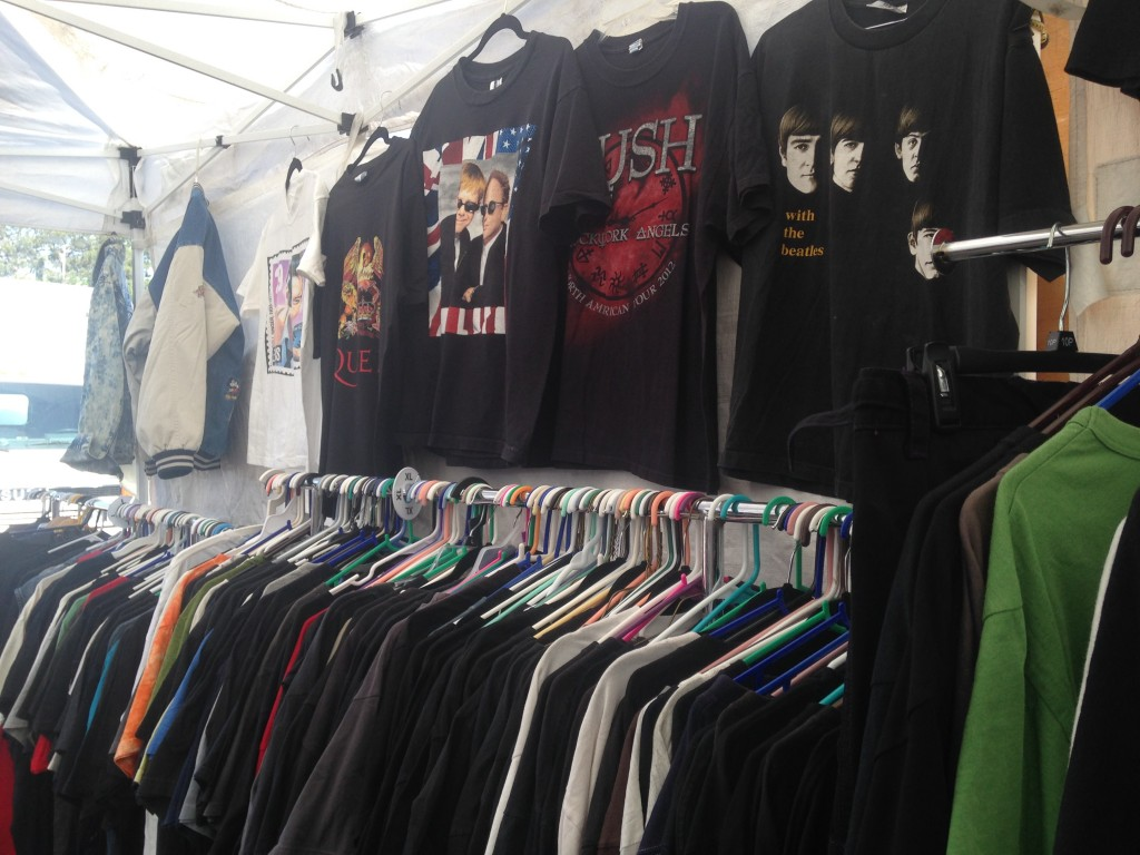 T-shirt rock, foto di Gloria