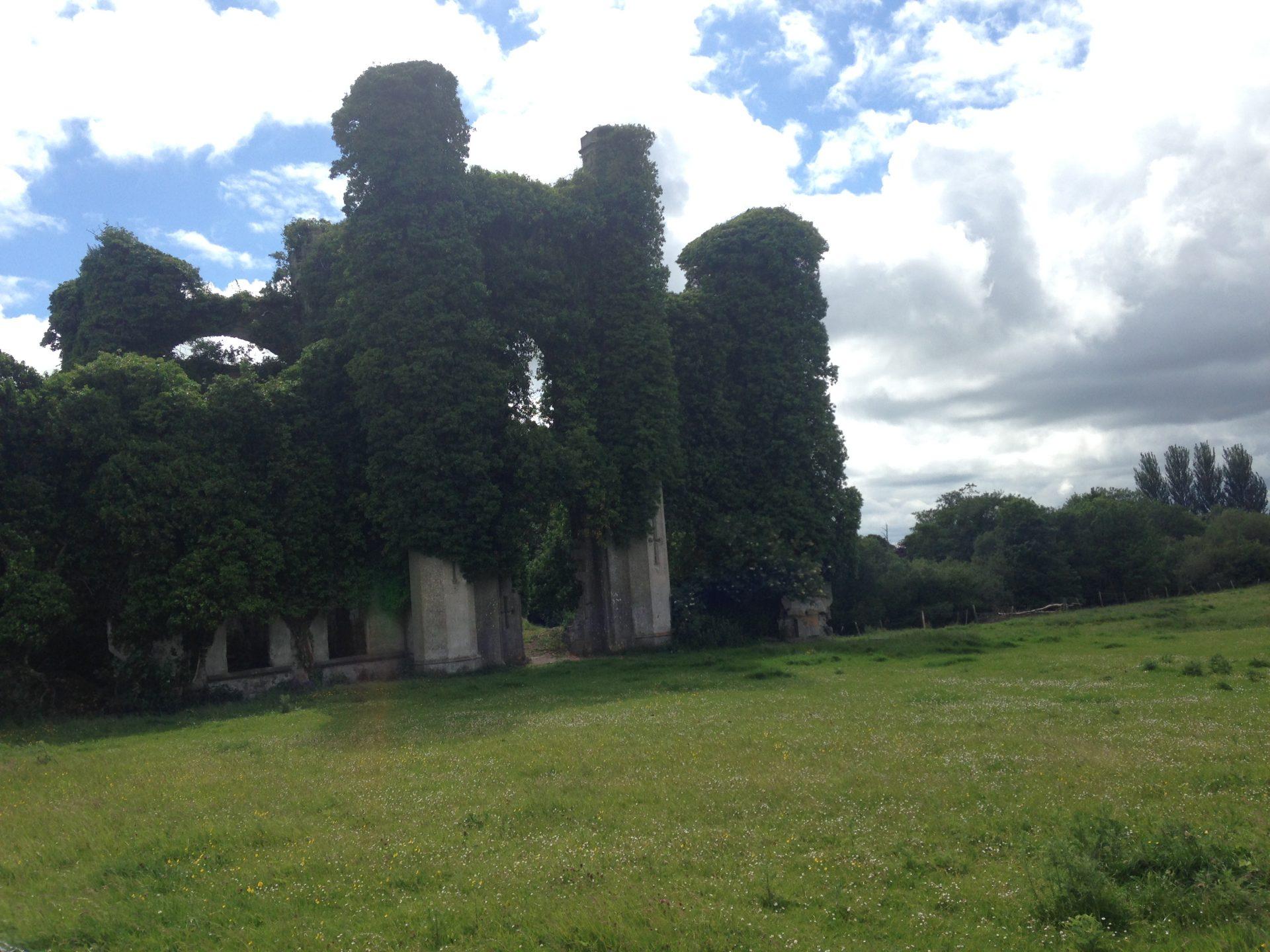 Una foto dal Castlello di Moydrume