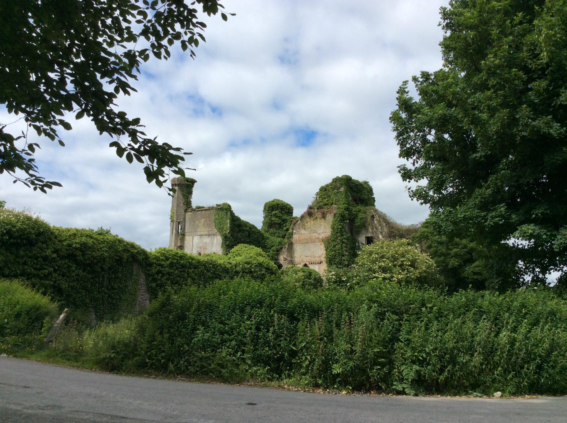 Il Castello visto da un lato