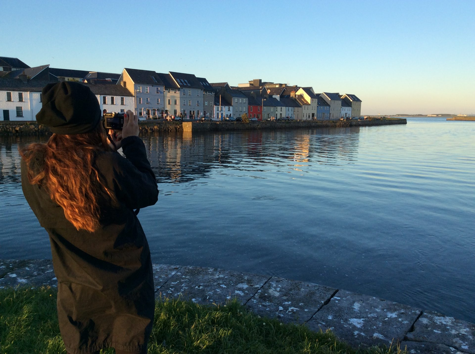 Io, sulla baia di Galway