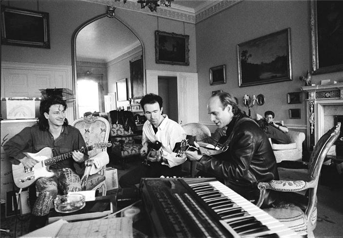 U2 e Brian Eno allo Slane Castle