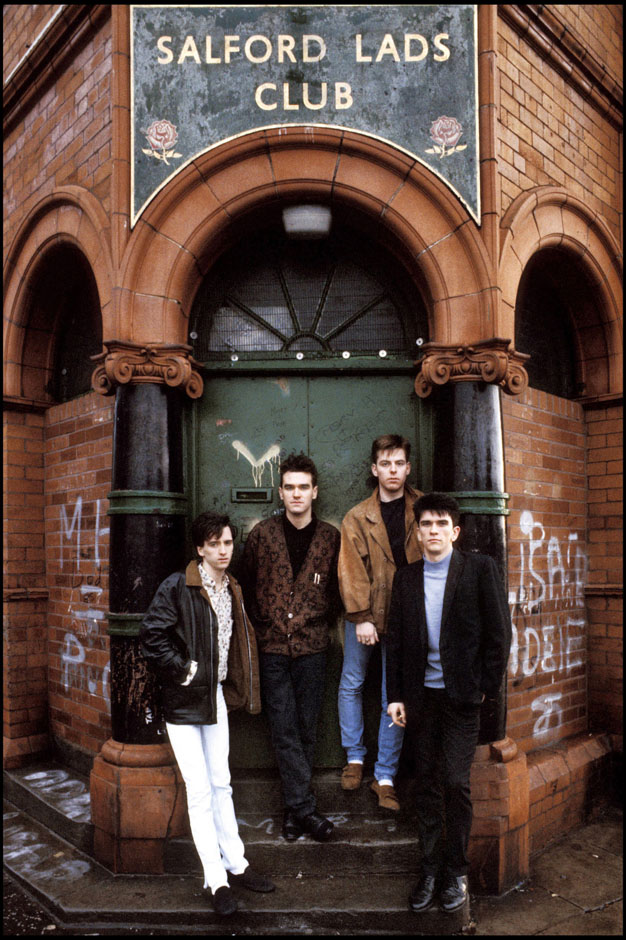 Uno degli scatti degli Smiths
