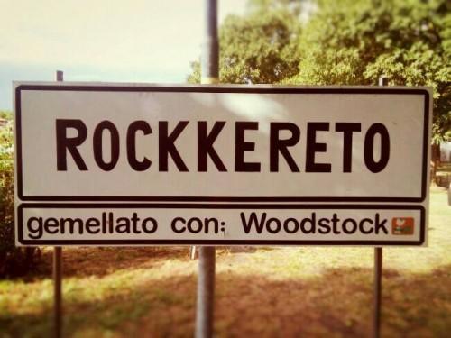 Il famoso cartello di Rocckereto
