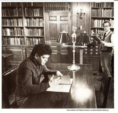 Lou Reed and Garland Jeffreys, Syracuse University, 1962