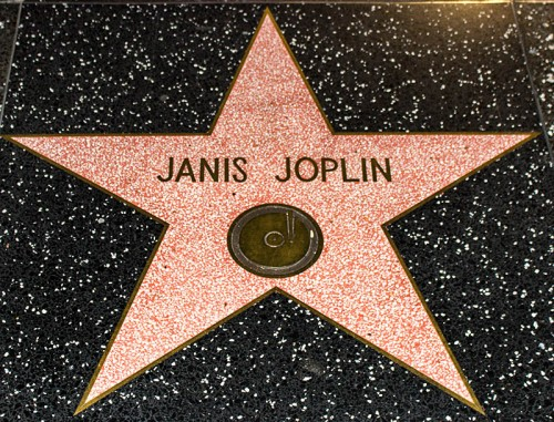 Hollywood Boulevard, Janis Joplin