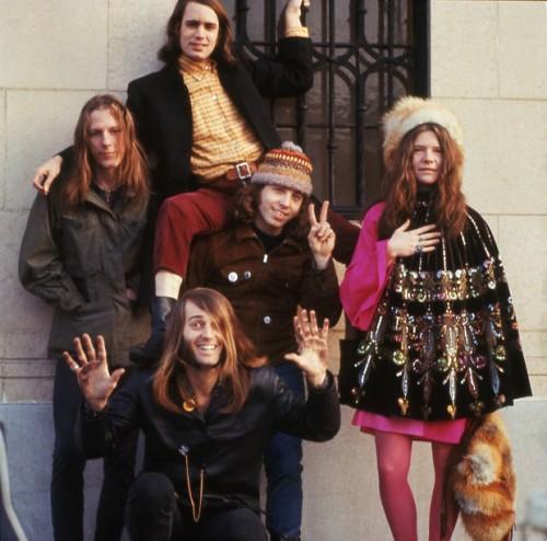 Janis con la sua prima band a SF