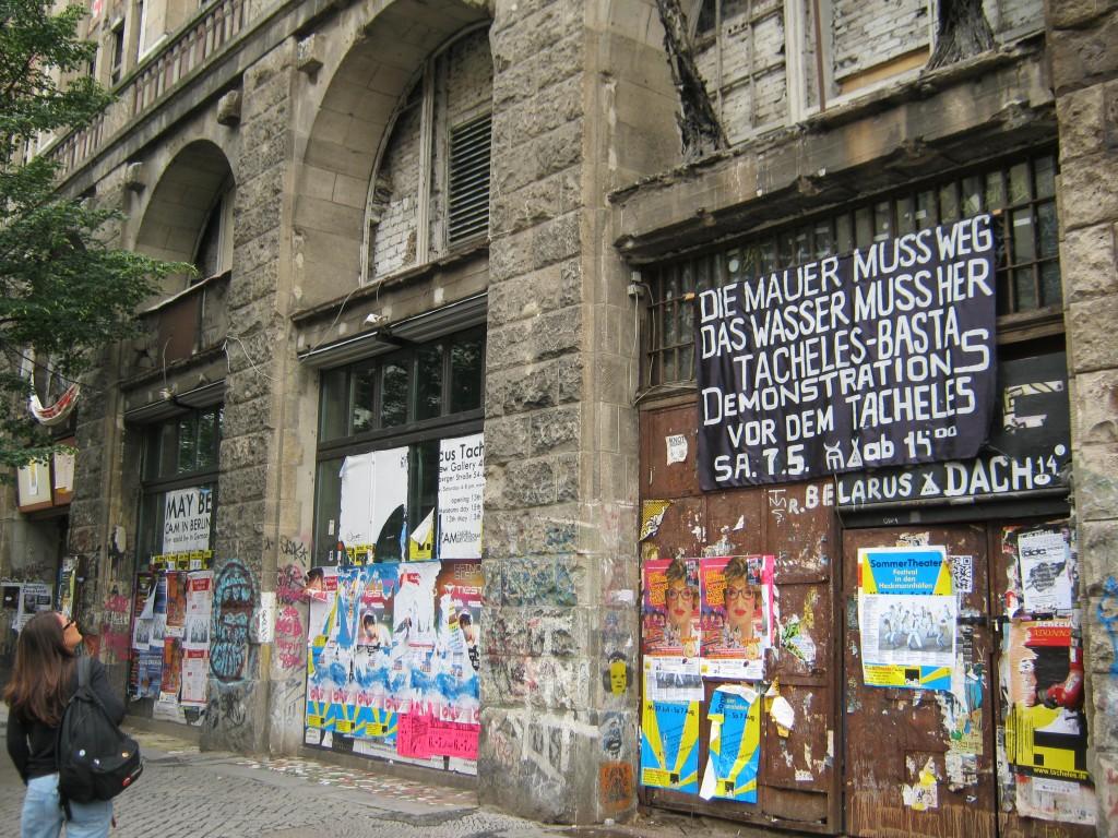 Un angolo di Berlino, foto di Gloria