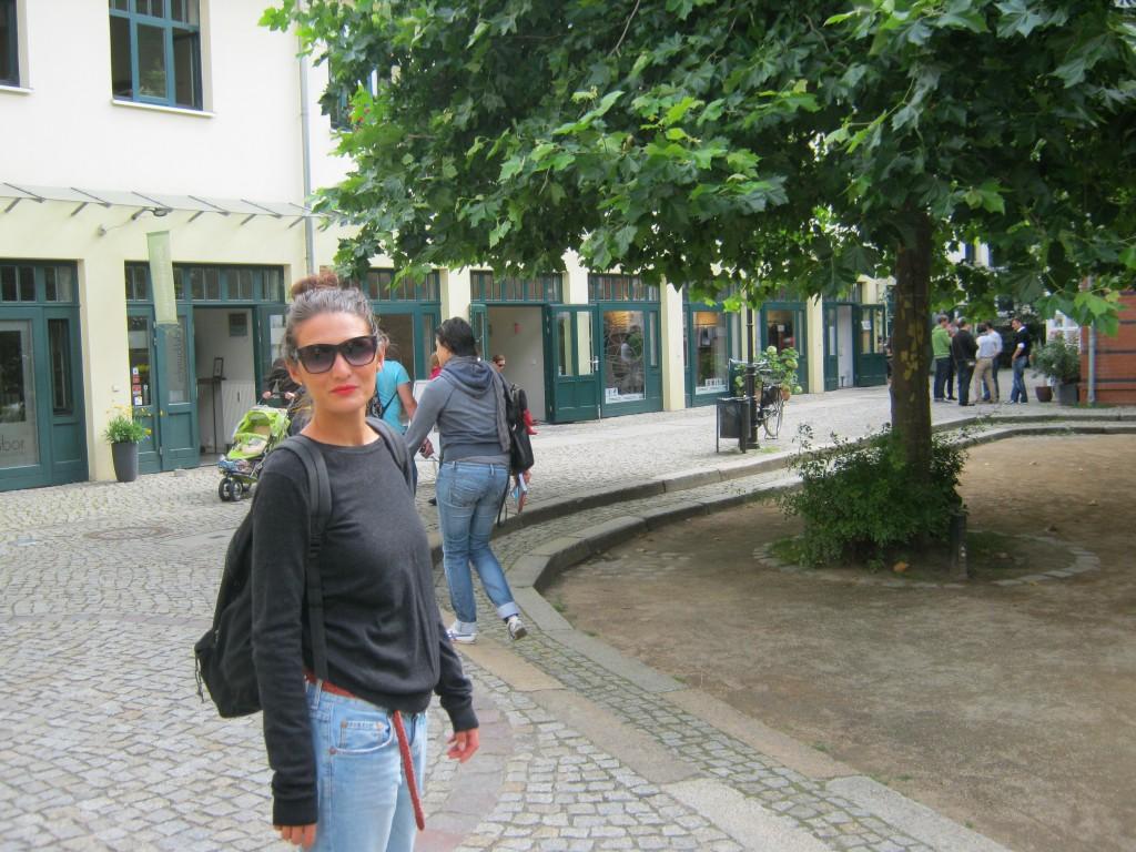 Io alla ricerca dei luoghi di Bowie a Berlino